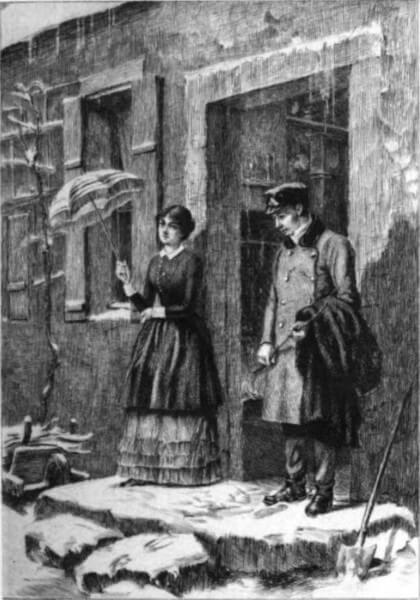 Ilustração do próprio autor, Gustave Flaubert, para o livro Madame Bovary, umas das obras-primas do Realismo.