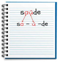 Exemplo de palavra com hiato