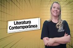 Videoaula sobre literatura contemporânea
