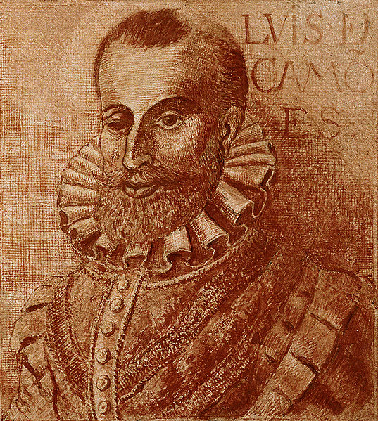 Luís Vaz de Camões ainda é considerado um dos mais importantes poetas da língua portuguesa.