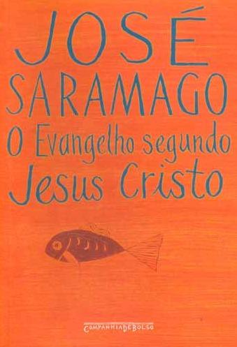 Capa do livro O evangelho segundo Jesus Cristo, livro que causou grande polêmica no meio literário. [2]