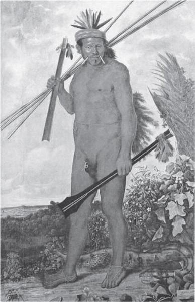 ECKHOUT, A. Índio Tapuia (1610-1666). Disponível em: http://www.diaa dia.pr.gov.br. Acesso em: 9 jul. 2009.