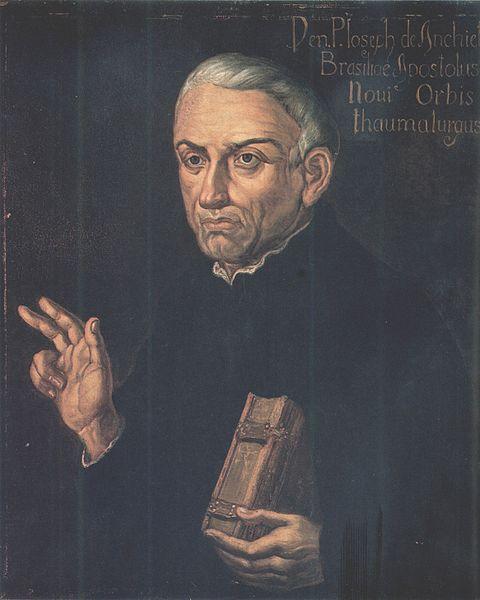 O Pe. José de Anchieta é o principal nome da literatura de formação no Brasil.