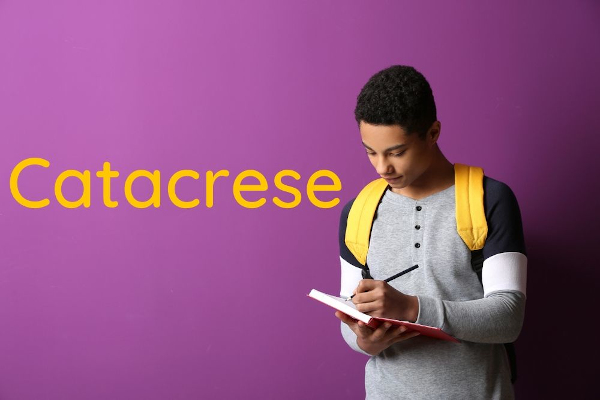 A catacrese é uma figura de linguagem que se caracteriza por fazer analogias.