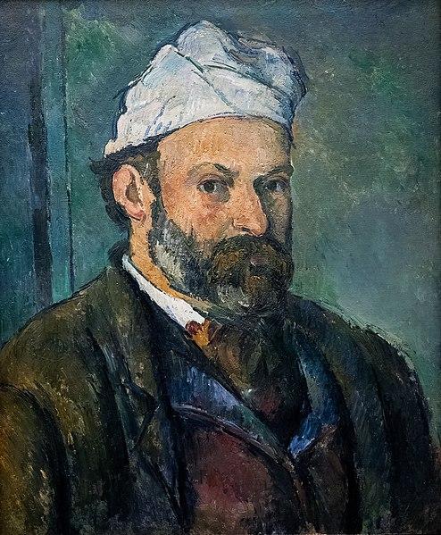 Autorretrato com turbante branco (1881-1882), obra de Paul Cézanne (1839-1906).