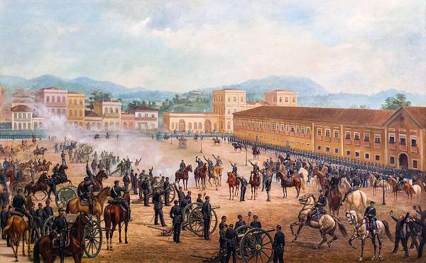 Proclamação da República (1893), obra de Benedito Calixto (1853-1927).
