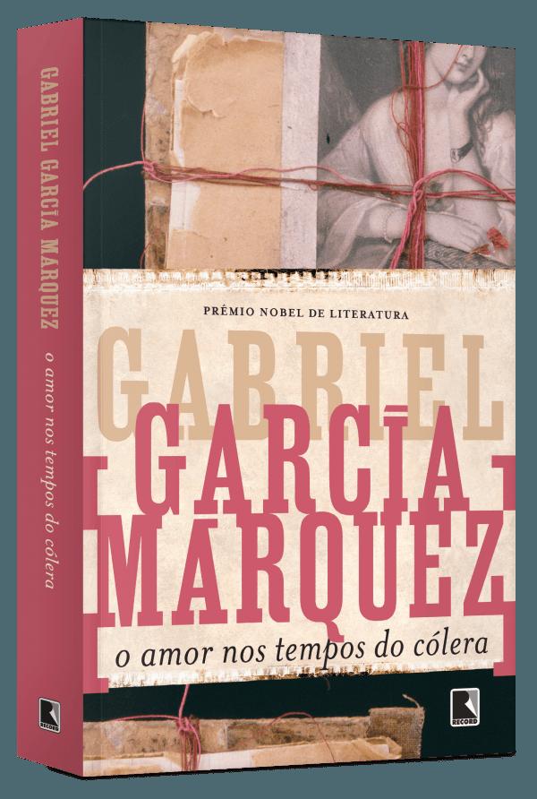 Capa do livro O amor nos tempos do cólera, de Gabriel García Márquez, publicado pelo Grupo Editorial Record. [2]