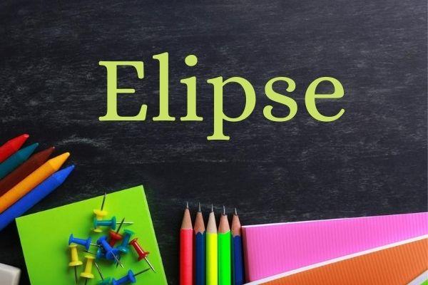 A elipse é uma figura de linguagem que consiste na omissão de um termo que pode ser deduzido a partir do contexto do enunciado.