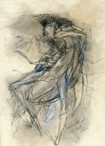Na ilustração que remete ao personagem Gregor Samsa, misteriosamente metamorfoseado em um inseto monstruoso.