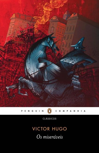 Capa do livro Os miseráveis, de Victor Hugo, publicado pela editora Companhia das Letras. [1]