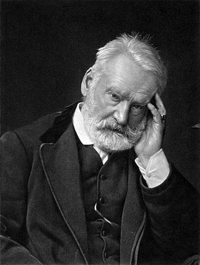 Victor Hugo (em 1875, aproximadamente).
