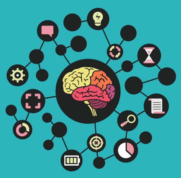 Os mapas mentais são determinantes para simplificar e selecionar informações relevantes para aprender as estruturas do português.