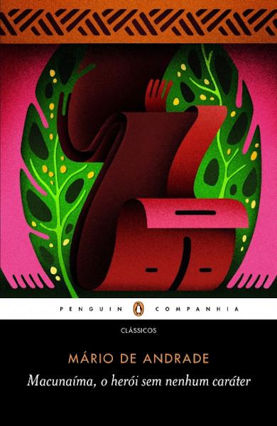 Capa do livro Macunaíma, de Mário de Andrade, publicado pela editora Companhia das Letras.[1]