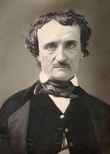 Edgar Allan Poe, em 1849.