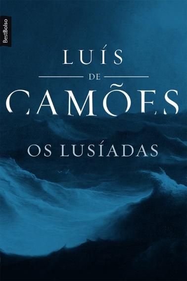 """Capa do livro """"Os Lusíadas"""", de Luís Vaz de Camões, publicado pela editora BestBolso. [1]"""
