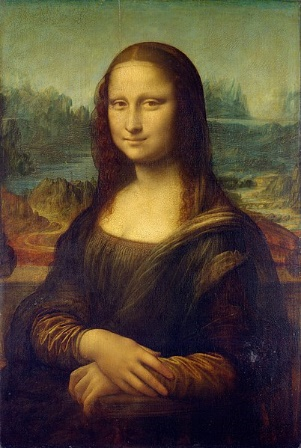 """""""Mona Lisa"""", de Leonardo da Vinci (1452-1519), é a obra mais famosa do renascimento."""