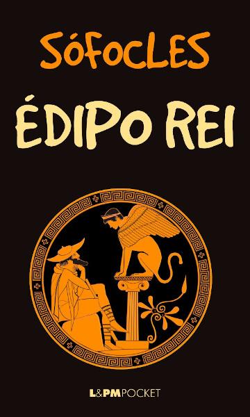 Capa do livro Édipo rei, de Sófocles, publicado pela editora L&PM.[1]