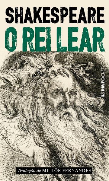 Capa do livro O rei Lear, de William Shakespeare, publicado pela editora L&PM.[1]