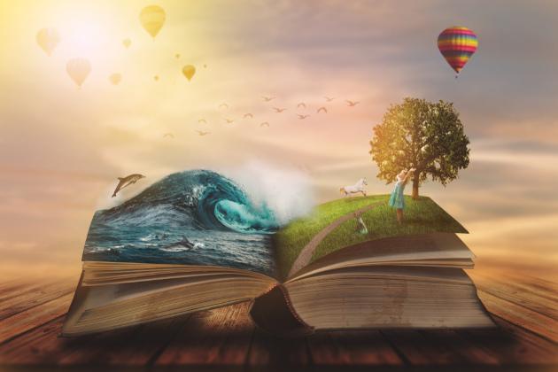 O livro infantil abre as portas de mundos incríveis aos seus leitores.