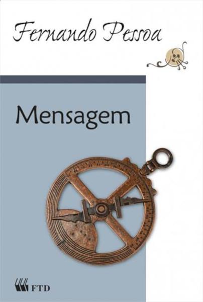 Capa do livro Mensagem, de Fernando Pessoa, publicado pela editora FTD.[1]