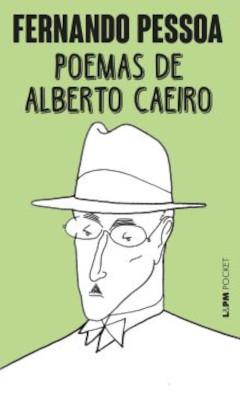 Capa do livro Poemas de Alberto Caeiro, publicado pela editora L&PM.