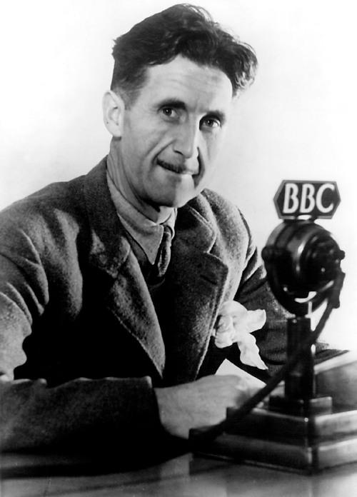 George Orwell, na BBC.