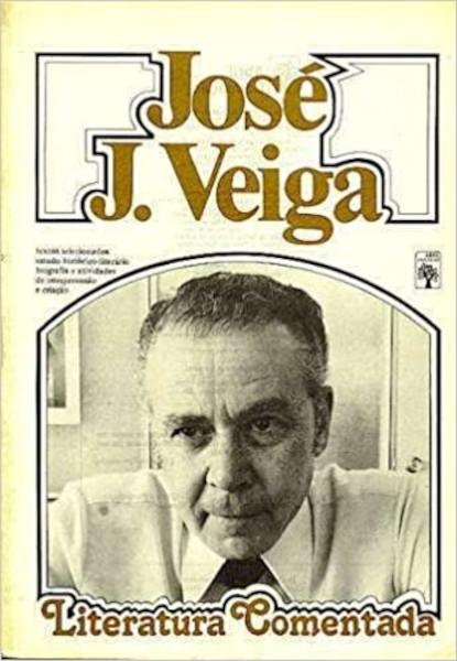 José J. Veiga (foto de capa) — Coleção Literatura Comentada, da editora Abril.[1]