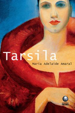 """A capa do livro """"Tarsila"""", de Maria Adelaide Amaral, publicado pela editora Globo, reproduz o autorretrato da pintora, feito em 1923.[2]"""