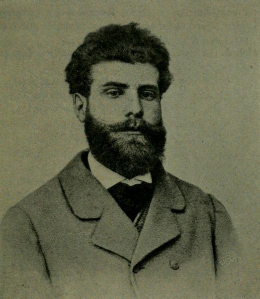 Antero de Quental, em 1864.
