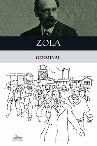Capa do livro Germinal, de Émile Zola, publicado pela editora Estação Liberdade.[1]