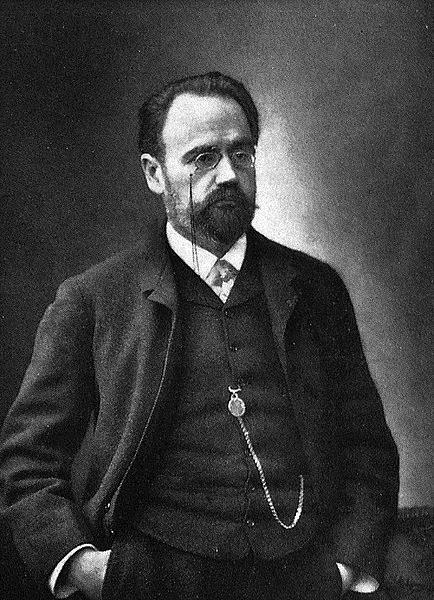 Émile Zola, em 1899.