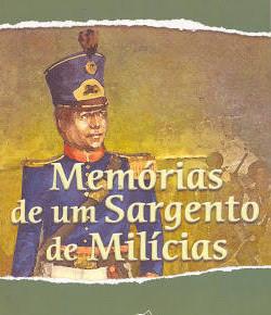 Memórias de um sargento de milícias capa do livro