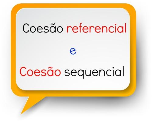 A coesão referencial e sequencial criam vínculos entre as palavras, orações e as partes de um texto