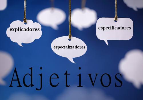 A delimitação do adjetivo pode ser por explicação, especialização e especificação