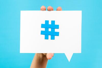 A hashtag tem se tornado um símbolo cada vez mais comum, sobretudo entre os usuários das redes sociais