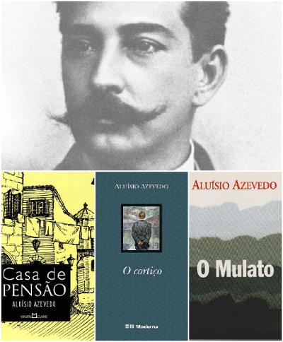 Aluísio Azevedo nasceu em São Luís do Maranhão e é considerado o principal representante do Naturalismo no Brasil