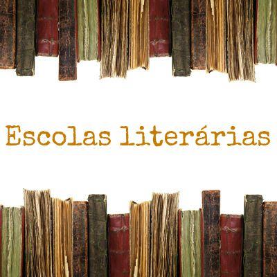 As escolas literárias estão agrupadas, genericamente, em duas eras: Era Colonial e Era Nacional