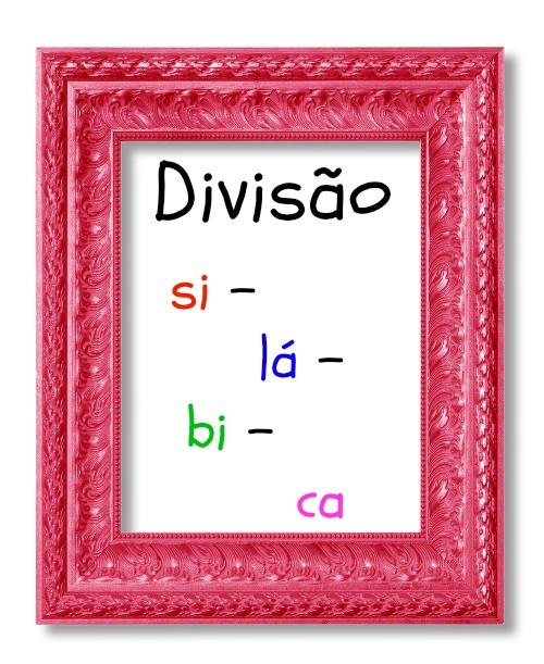 As sílabas têm as vogais em sua base e são divididas de acordo com os fonemas pronunciados em uma única emissão sonora.