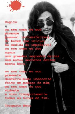 Nascido em Teresina, em 09 de novembro de 1944, Torquato Neto foi poeta, jornalista e letrista. Faleceu no Rio de Janeiro, em 10 de novembro de 1972