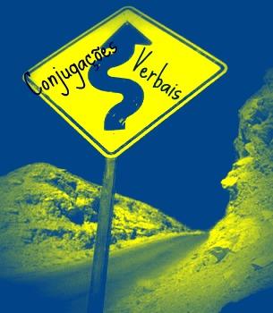 Deparamo-nos com uma trajetória sinuosa, mediante práticas linguísticas voltadas para as conjugações verbais