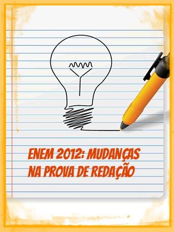 De forma a amenizar a subjetividade, algumas mudanças se operaram na correção da redação do Enem de 2012