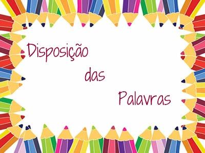 Distinta é a posição das palavras na língua portuguesa, a depender da intenção comunicativa expressa pelo emissor