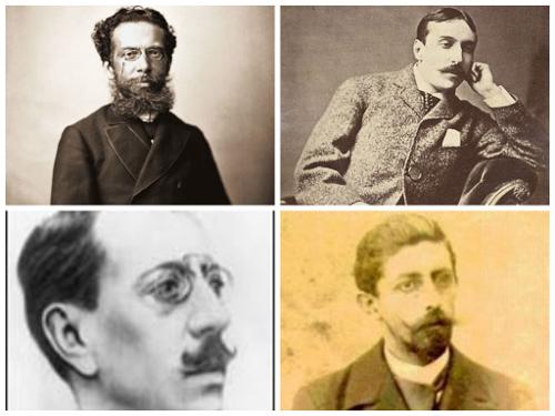 O arcaísmo literário pode ser encontrado na escrita de autores como Machado de Assis, Eça de Queiroz, Olavo Bilac e Simões Lopes Neto