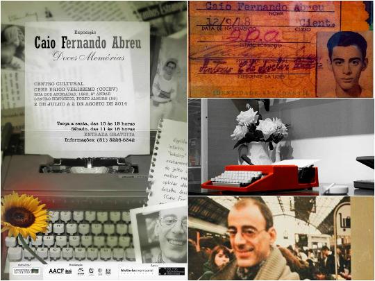 Itens do acervo de Caio Fernando Abreu, arquivados no Delfos, Espaço de Documentação e Memória Cultural da PUC do Rio Grande do Sul ***