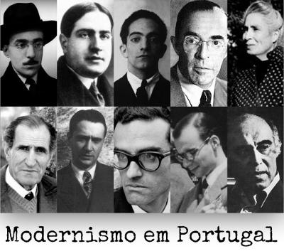 Fernando Pessoa, José Régio, Miguel Torga, Irene Lisboa e Fernando Namora estão entre os representantes das diferentes fases do modernismo português
