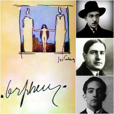 Fernando Pessoa, Mário de Sá-Carneiro e Almada Negreiros foram os principais representantes do Orfismo, primeira fase do modernismo português