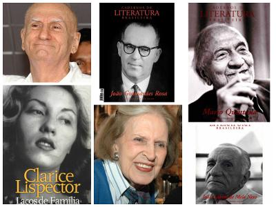 Geração de 1945: Ariano Suassuna, João Guimarães Rosa, Mario Quintana, Clarice Lispector, Lygia Fagundes Telles e João Cabral de Melo Neto *