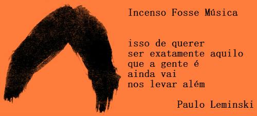 Um dos principais nomes da Poesia Marginal, Paulo Leminski nasceu em Curitiba no dia 24 de agosto de 1944 e faleceu no dia 07 de junho de 1989