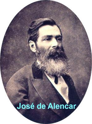 José de Alencar é um dos maiores escritores da prosa romântica da literatura brasileira