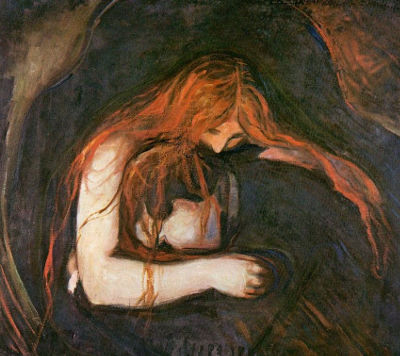 Love and pain (Amor e dor), do pintor expressionista norueguês Edvard Munch